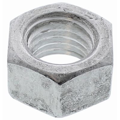 #10-24 Finished Hex Full Nuts — Aluminum, Coarse, 100/PKG