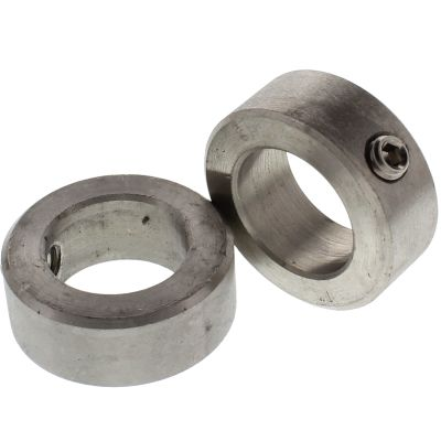 """1"""" x 1-5/8"""" x 5/8"""" Shaft Collars - Stainless Steel"""