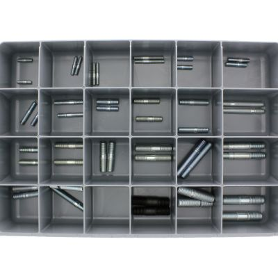 Automotive Studs — Steel Drawer Assortment