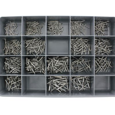 Blind Rivets Aluminum/Aluminum Drawer Assortment