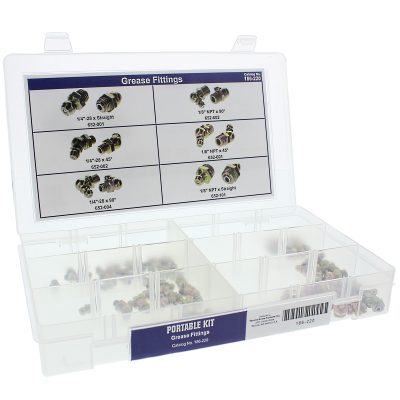 Grease Fittings Portable Kit Assortment