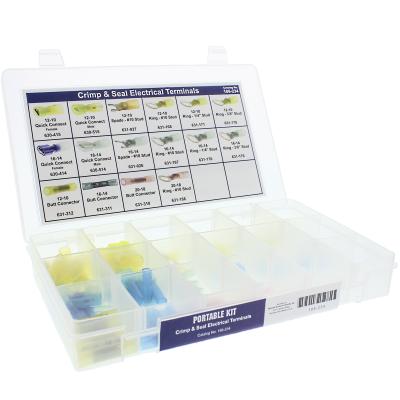 Crimp & Seal Electrical Terminals Portable Kit Assortment