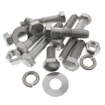 Hex Cap Screws Full — 18-8 Stainless Steel Bolt Bin Assortment