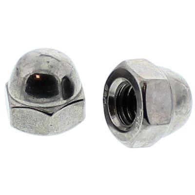 #12-24 Hex Cap Nuts — Type 316 Stainless Steel, Coarse, 100/PKG