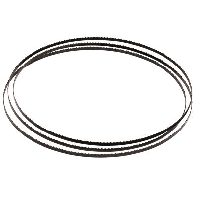 "6HR 1/4"" x 93-1/2"" Carbon Steel Bandsaw Blade"