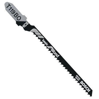 """12 TPI x 3-1/4"""" Carbon Steel Jig Saw Blades, 5/PKG"""