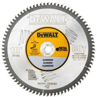 "DeWalt 10"" Carbide Non-Ferrous Metal Circular Saw Blade"