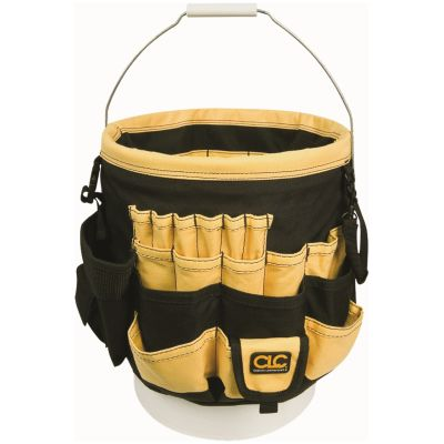 Custom Leathercraft Bucket Organizer
