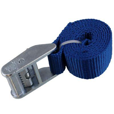 Tiegrrr 3' Cam Strap — Blue