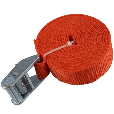 Tiegrrr 12' Cam Strap — Orange