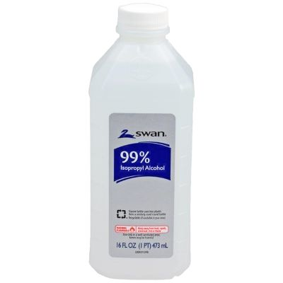 99% Isopropyl Alcohol — 16 oz. Plastic Bottle