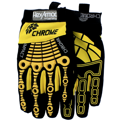 Chrome Series® 360° Cut Resistant Gloves – Level 5, Extra Large