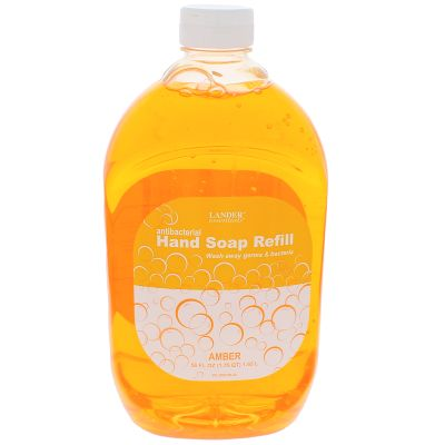 Antibacterial Liquid Hand Soap — 56 oz. Plastic Bottle