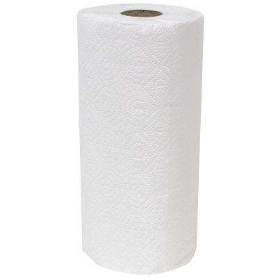 2-Ply Paper Roll Towels — White, 30/CS