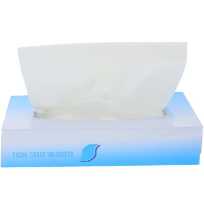Facial Tissue 2-ply , 100/Box