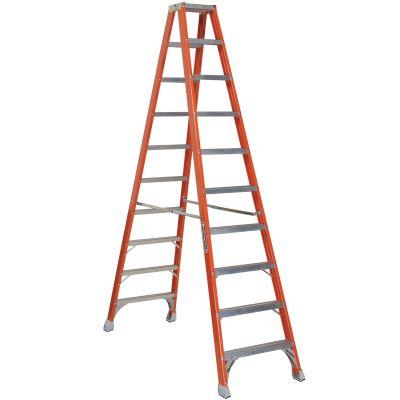 Louisville 10' Fiberglass Double Sided Step Ladder