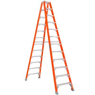 Louisville 12' Fiberglass Double Sided Step Ladder