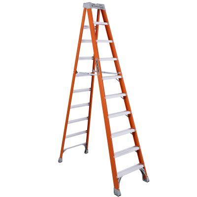 Louisville 10' Fiberglass Step Ladder