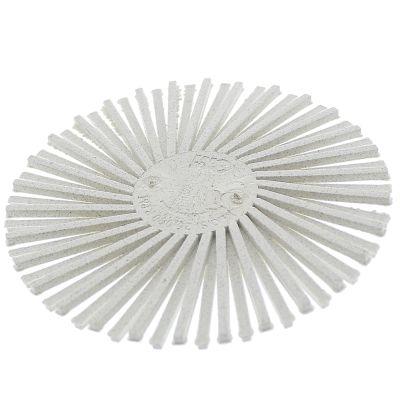 "3M™ 24278 3"" 120 - Fine Grit Radial Roloc Bristle Disc, White"
