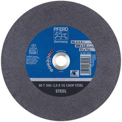 "12"" x 3/32"" x 1"" Type 1 Cut-Off Wheels for Ferrous Metals"