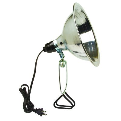 """5-1/2"""" 60W Reflector Clamp Light with 6 ft. Cord"""
