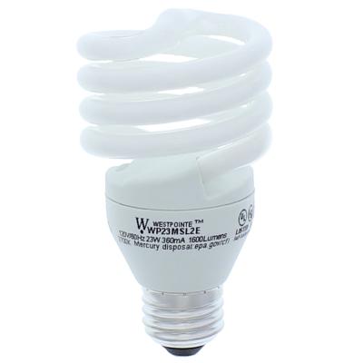 23-Watt T2 Compact Fluorescent Soft White Light Bulb