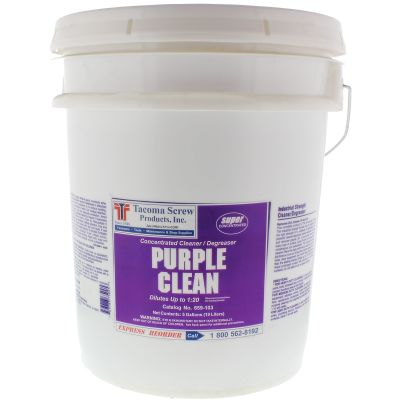Tacoma Screw Products™ Purple Clean Industrial Strength Cleaner/Degreaser — 5 gal. Pail