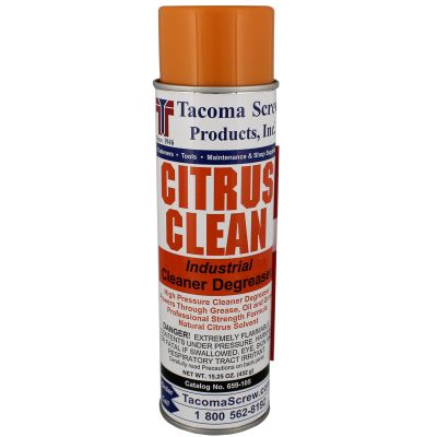 Tacoma Screw Products™ Citrus Clean Industrial Cleaner/Degreaser — 15.25 oz. Aerosol