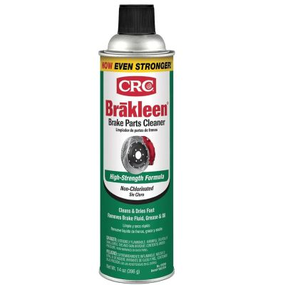 CRC Brakleen® Brake & Parts Cleaner — Non-Chlorinated, 14 oz. Aerosol