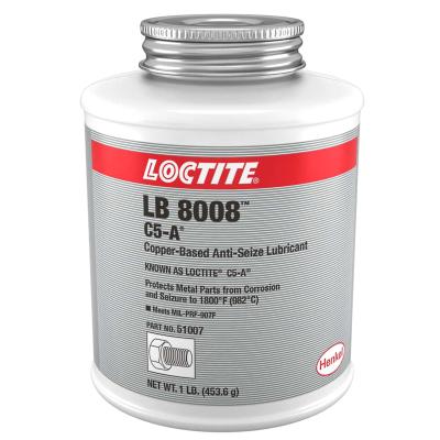 Loctite® Copper Based Anti-Seize Lubricant 1 lb. Brush Top Can