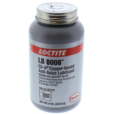Loctite® Copper Based Anti-Seize Lubricant 8 oz. Brush Top Can