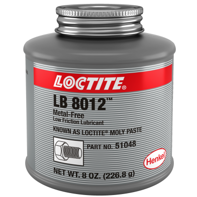 Loctite® Moly Paste Anti-Seize, 8 oz. Brush Top Can
