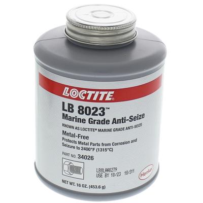 Loctite® Marine Grade Anti-Seize Lubricant — 16 oz. Brush Top Can