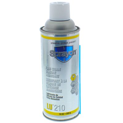 Sprayon™ LU210 Food Grade Silicone, 10 oz. Aerosol
