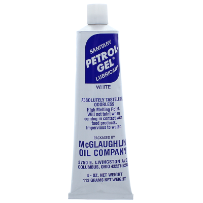 Petrol-Gel® White Sanitary Lubricant 4 oz.  — Tube