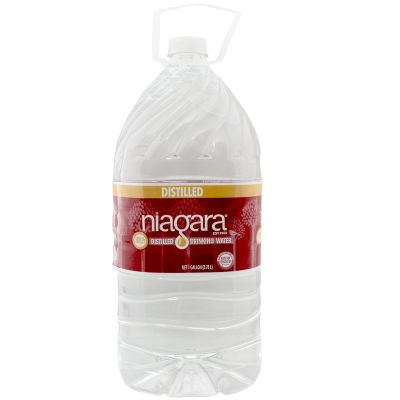 Distilled Water — 1 gal. Plastic Bottle