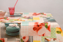 Fotoprint patchwork macarrons pastel