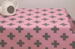 Cross pink-grey 280