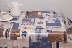 Tafelzeil Creabea blauw