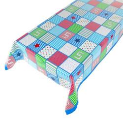 Tafelzeil Lief! patchwork stoer