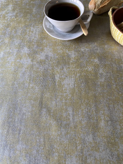 Tafellaken Margaux misty green-gold
