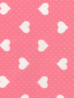 Heart pink-white