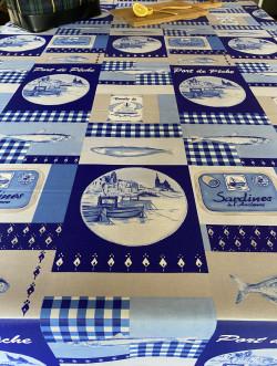 Sardines bleu