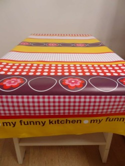 My funny kitchen paars/rood/geel
