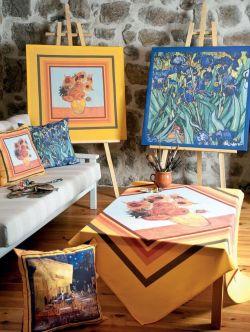 Tournesols gtl 155 x 250 cm afgewerkt