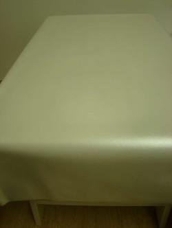 Tafelzeil geborsteld metaal parelmoer