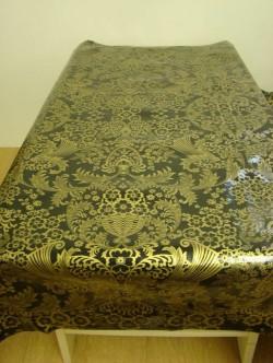 Baroque goud op zwart mex
