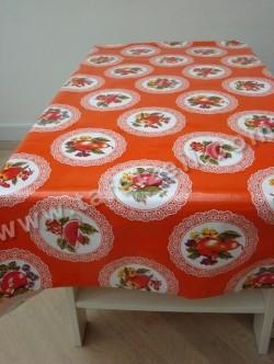 Kantcirkel fruit oranje