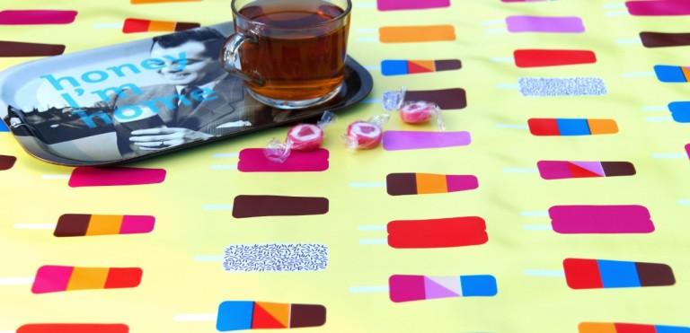 Multicolour tafelzeil