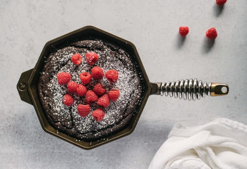 skillet-brownies